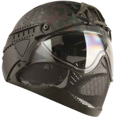 Casque WarQ Fullface Airsoft / Paintball (édition spéciale FLECKTARN) | Paintball Sports