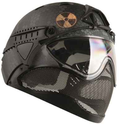 Casque WarQ Fullface Airsoft / Paintball (édition spéciale FALLOUT) | Paintball Sports