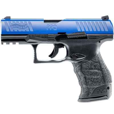 Pistolet de paintball Walther PPQ M2 T4E RAM (Cal. 43) - Bleu | Paintball Sports