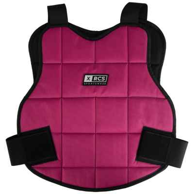 Protecteur de buste de paintball XRCS / protection du haut du corps (rose) | Paintball Sports