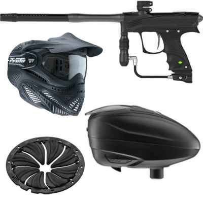 Proto MaXXed Rize Dye Power Package Économies (Bleu) | Paintball Sports