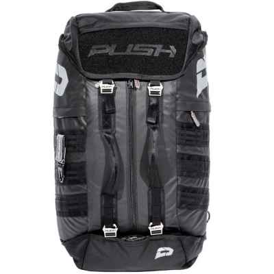 Push Division One Gearbag / Sac de paintball (Noir) | Paintball Sports