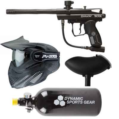 Spyder Victor RMF marqueur de paintball paquet économique / ensemble complet | Paintball Sports