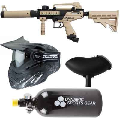 Tippmann Cronus Tactical Paintball paquet économique / paquet de départ | Paintball Sports