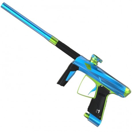 Marqueur de paintball MacDev Clone 5S Infinity (turquoise / bleu) | Paintball Sports