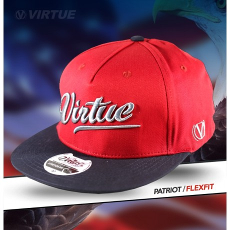 Bonnet Virtue Paintball Flex Fit (Rouge - Patriot All-Star) | Paintball Sports