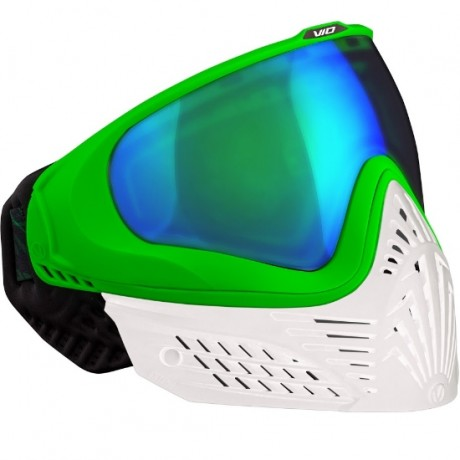 Masque thermique Virtue VIO EXTENDED Paintball (émeraude blanche) | Paintball Sports