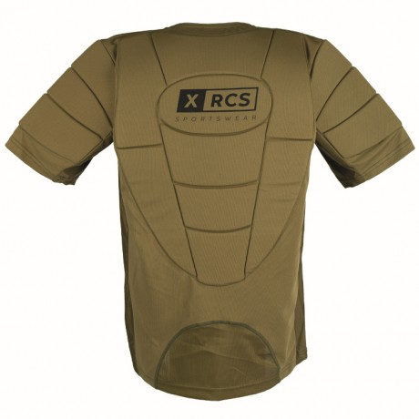 Cuirasse de paintball XRCS ProTector (olive) | Paintball Sports